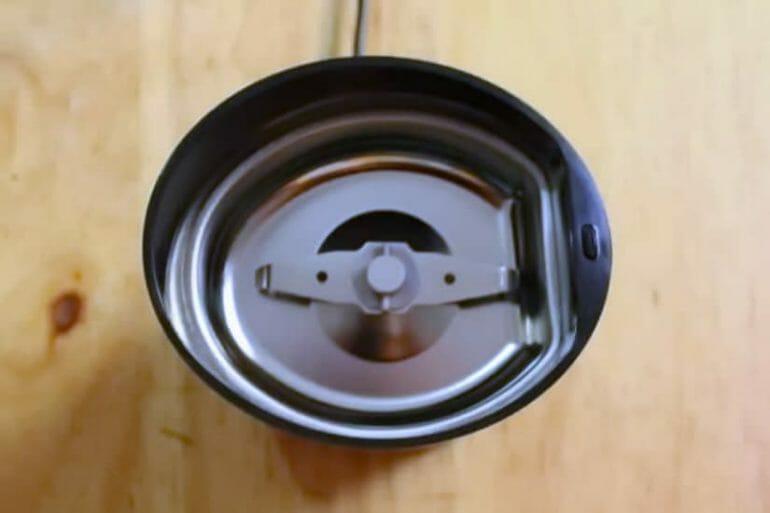 krups blade grinder top view