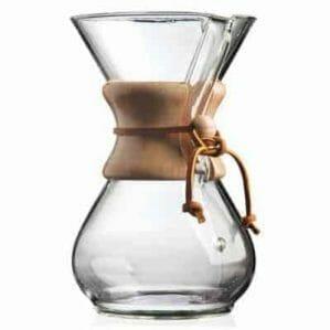 The Chemex coffee maker