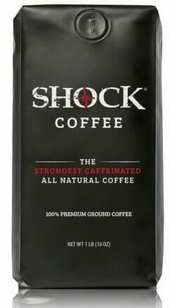 shock coffee bag