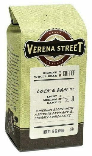 Verena Street 12 Ounce Whole Bean Coffee