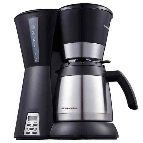Bonsenkitchen 10-Cup Thermal Programmable Coffee Maker