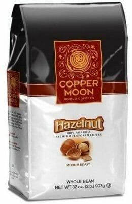 Copper Moon Hazelnut Whole Bean Medium Roast Coffee
