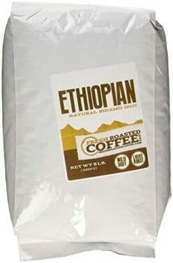 Ethiopian Sidamo Guji Natural Coffee