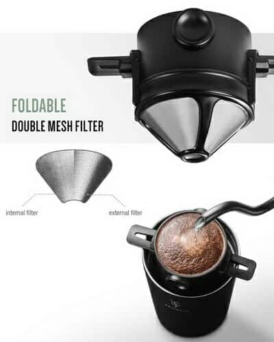 soulhand usb electric 5 in 1 travel coffee grinder