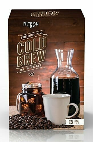 Filtron Cold Water Coffee Concentrate Brewer