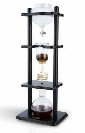 Yama Glass Coffee Tower with Iced Slow-Drip Technology