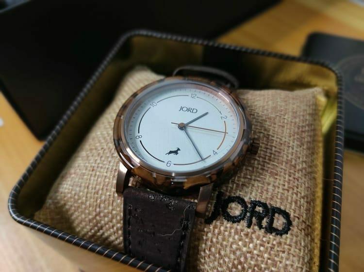 JORD Coffee Watch Closeup