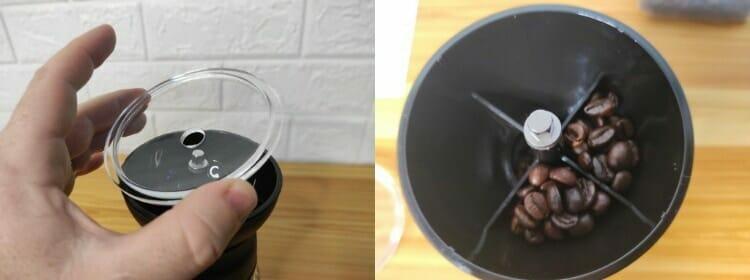 hario ceramic coffee mill skerton pro