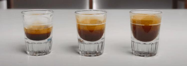 espresso shot size