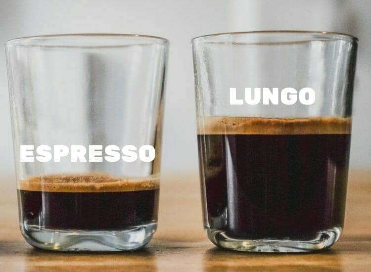 lungo vs espresso