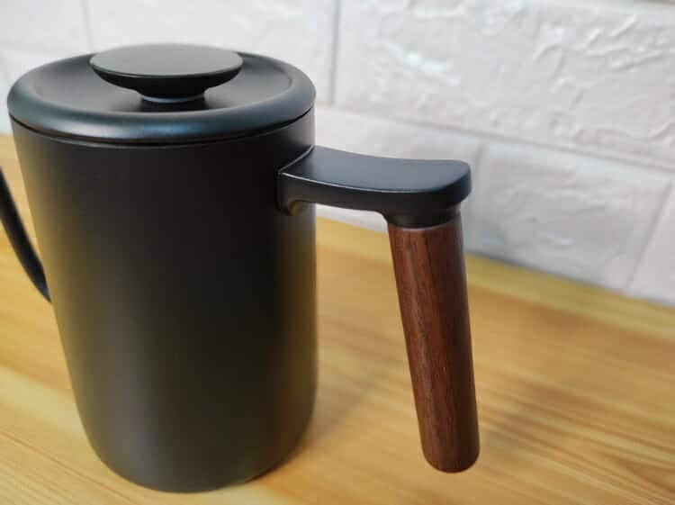 timemore kettle wood handle