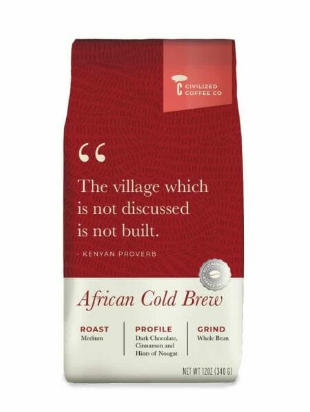 civilized coffee african cold brew blend