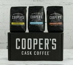 cooper's cask coffee cold brew coffee box set