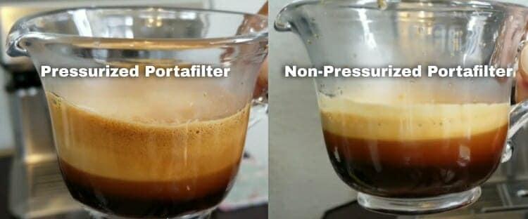 pressurized vs. non pressurized