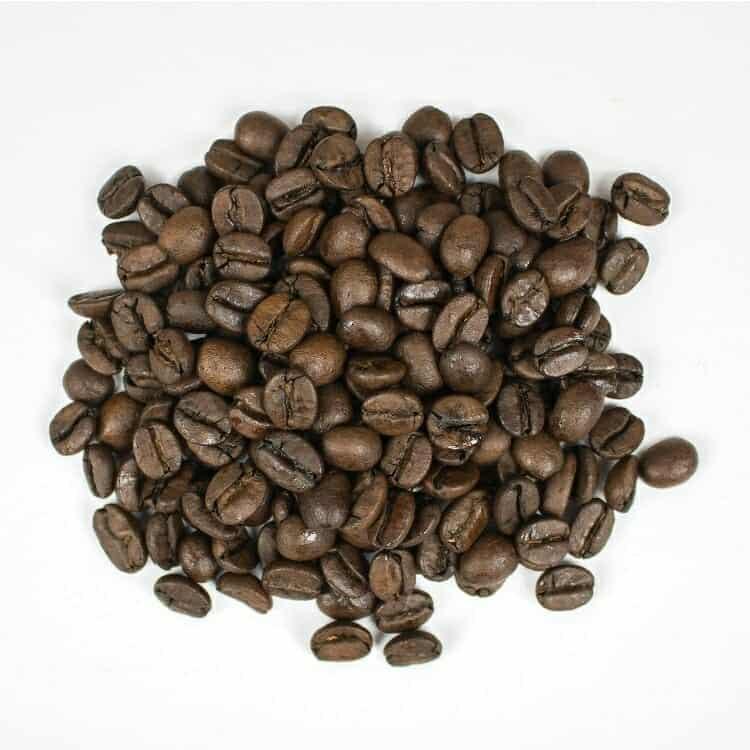 medium dark roast coffee
