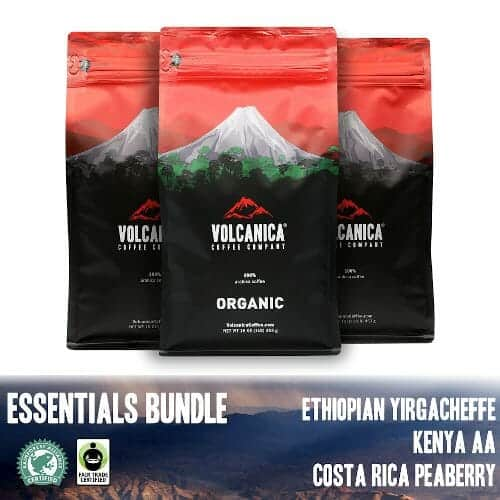 recommended best rainforest alliance volcanica essential coffee bundle