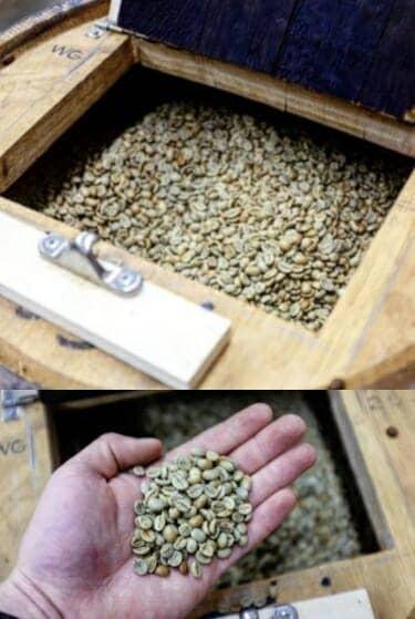 barrel aged coffee beans