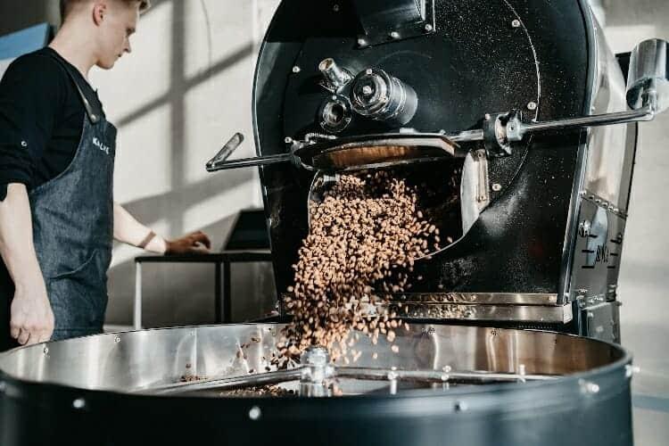 types of roasting coffee